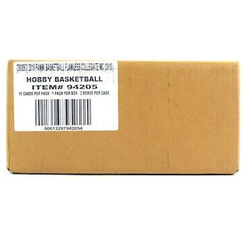 2018 Panini Flawless Collegiate Basketball Hobby 2-Box Case