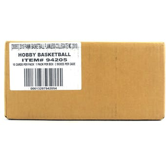 2018 Panini Flawless Collegiate Basketball Hobby 2-Box Case