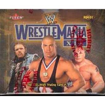 2003 Fleer WWF WWE Wrestlemania XIX Wrestling Hobby Box