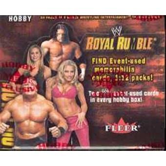 2002 Fleer WWF WWE Royal Rumble Wrestling Hobby Box