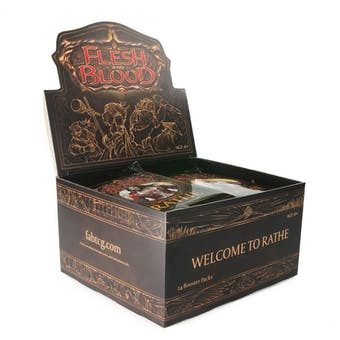 Flesh and Blood TCG: Welcome to Rathe Alpha (1st Edition) Booster Box
