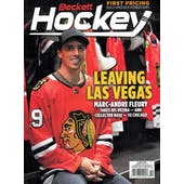 2021 Beckett Hockey Monthly Price Guide (#350 October) (Marc-Andre Fleury)