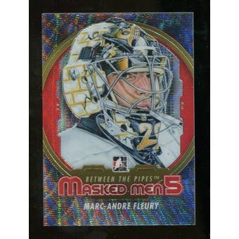 2012/13 In the Game Between The Pipes Masked Men V Silver #MM9 Marc-Andre Fleury /50