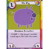 Promo Adventure Time Pig card