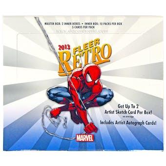 Marvel Fleer Retro Trading Cards Hobby Box (Upper Deck 2013)