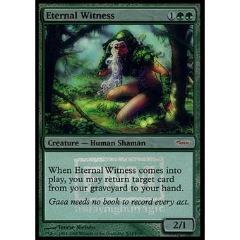 Magic the Gathering Promotional Single Eternal Witness Foil (FNM)