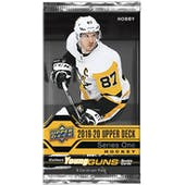 2019/20 Upper Deck Series 1 Hockey Hobby Pack