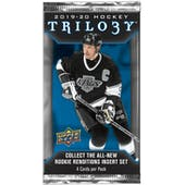2019/20 Upper Deck Trilogy Hockey Hobby Pack