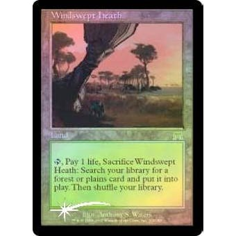 Magic the Gathering Onslaught Single Windswept Heath FOIL - NEAR MINT (NM)