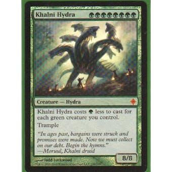 Magic the Gathering Rise of the Eldrazi Single Khalni Hydra Foil