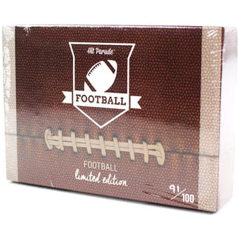 2020 Hit Parade Football Limited Edition - Series 52 - Hobby Box /100 Rodgers-Henry-Moss