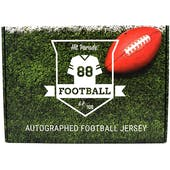 2019 Hit Parade Autographed Football Jersey Hobby Box - Series 10 - UNITAS, MARINO, ELWAY, & MONTANA!!!