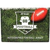 2021 Hit Parade Autographed Football Jersey - Series 2 - Hobby 10-Box Case - J. Allen, L. Jackson & K. Murray!