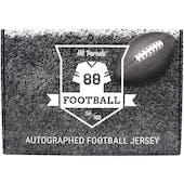 2020 Hit Parade Autographed Football Jersey Hobby Box - Series 5 - Patrick Mahomes & Joe Namath!!