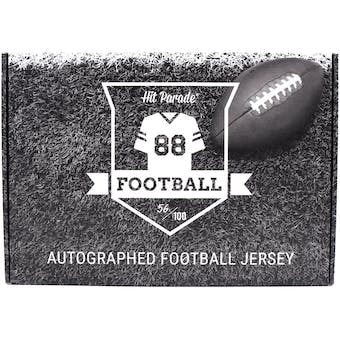 2020 Hit Parade Autographed 1st ROUND EDITION Football Jersey - Series 9 - Hobby 10 Box Case - Josh Allen!!