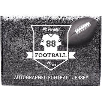 2021 Hit Parade Autographed Football Jersey - Series 5 - Hobby Box - Tom Brady, Josh Allen & Lamar Jackson!!
