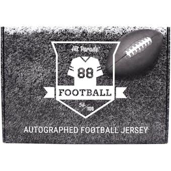 2019 Hit Parade Auto 1st Round Ed Football Jersey 1-Box Series 1- DACW Live 8 Spot Random Division Break #5