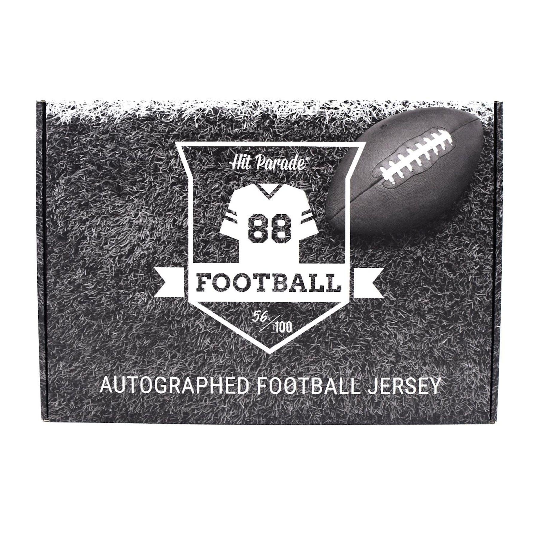 info for 1432b 8fe47 2019 Hit Parade Autographed Football Jersey Hobby Box - Series 7 -