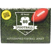 2020 Hit Parade Auto OFFICIALLY LICENSED Football Jersey Box Ser 6- DACW Live 8 Spot Random Division Break #1