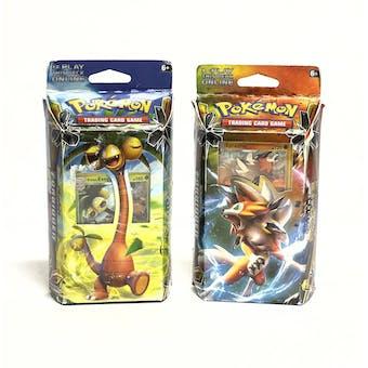 Pokemon Sun & Moon: Forbidden Light Theme Deck - Set of 2 (EX Box, Mint Cards)