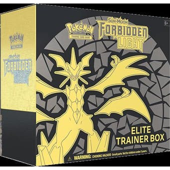 Pokemon Sun & Moon: Forbidden Light Elite Trainer Box