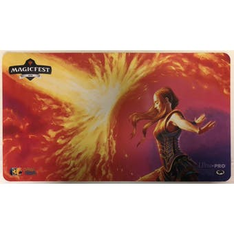 Magic the Gathering MagicFest GP Staff Judge exclusive Playmat - FORCE OF WILL !