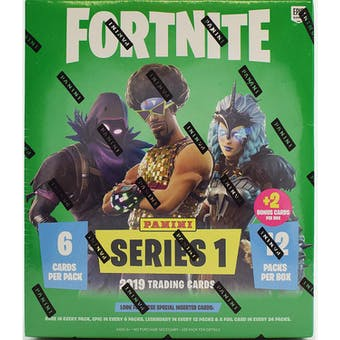 Fortnite Series 1 Trading Cards Mega Box (Panini 2019) - USA Version