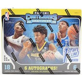 2019/20 Panini Contenders Draft 1st Off The Line Basketball Hobby Box