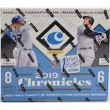 2019 Panini Chronicles Baseball 1st Off the Line Hobby Box