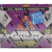 2017/18 Panini Prizm 1st Off The Line Basketball Hobby Box