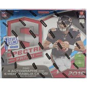 2019 Panini Spectra Football 1st Off The Line Hobby Box