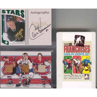 2004/05 In The Game Franchises Update Hockey Hobby Set (Box)