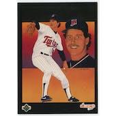 1989 Upper Deck Frank Viola Minnesota Twins Blank Back Black Border Proof