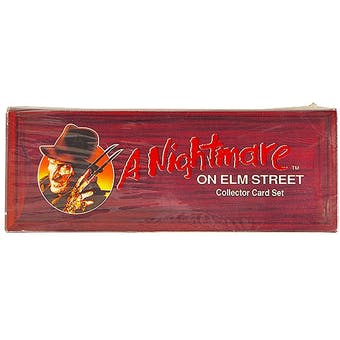 A Nightmare on Elm Street Collector Card Set (1991 Impel)