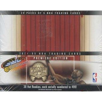 2004/05 Fleer Fresh Ink Basketball 24 Pack Box