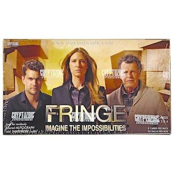 Fringe Seasons 3 & 4 Trading Cards Box (Cryptozoic 2013)