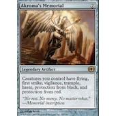 Magic the Gathering Future Sight Single Akroma's Memorial Foil SLIGHT PLAY (SP)