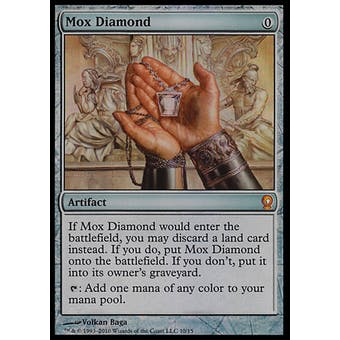 Magic the Gathering From the Vault: Relics Single Mox Diamond FOIL - NEAR MINT (NM)