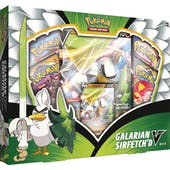 Pokemon Galarian Sirfetch'd V 6-Box Case (Presell)
