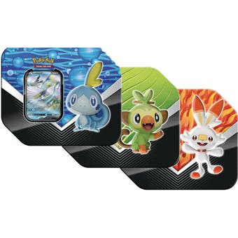 Pokemon Galar Partners Tin - Set of 3 (Presell)