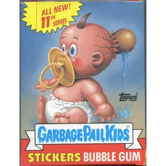 Garbage Pail Kids Series 11 Wax Box (1985-88 Topps)