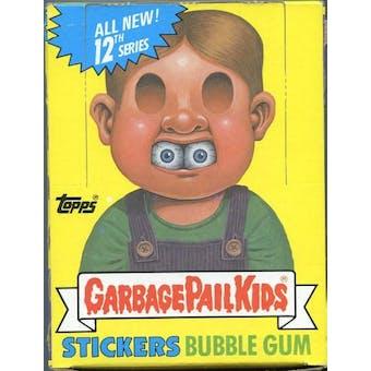 Garbage Pail Kids Series 12 Wax Box (1985-88 Topps)