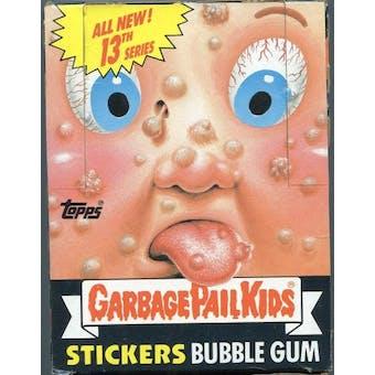 Garbage Pail Kids Series 13 Wax Box (1985-88 Topps)