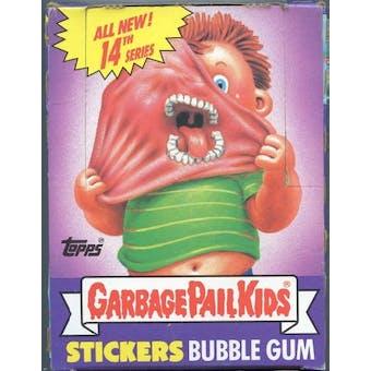 Garbage Pail Kids Series 14 Wax Box (1985-88 Topps)