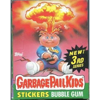 Garbage Pail Kids Series 3 Wax Box (1985-88 Topps)