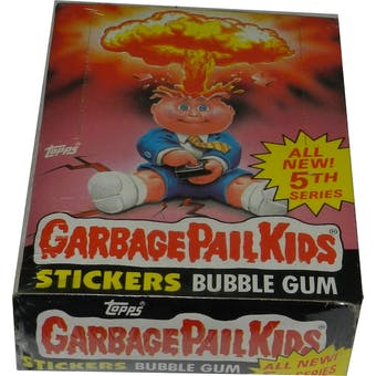 Garbage Pail Kids Series 5 Wax Box (1985-88 Topps)