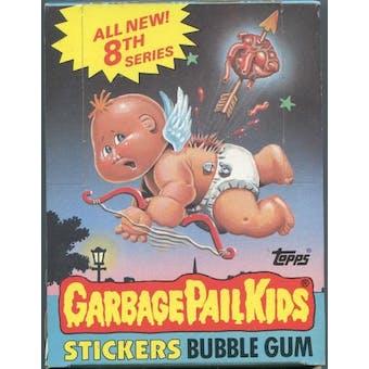 Garbage Pail Kids Series 8 Wax Box (1985-88 Topps)