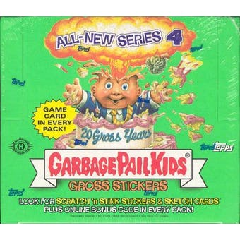 Garbage Pail Kids Series 4 Stickers Box (2005 Topps)