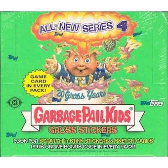 Garbage Pail Kids Series 4 Stickers Hobby Box (2005 Topps)