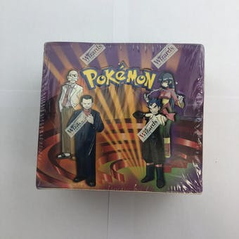 Pokemon Gym Challenge Unlimited Booster Box WOTC